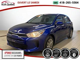 Used 2020 Kia Rio LX+ *5 PORTES* SIEGES CHAUFFANT* CAMERA for sale in Québec, QC