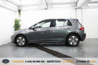 Used 2017 Volkswagen Golf e-Golf Comfortline + Jamais d'Essence + Électrique for sale in Québec, QC
