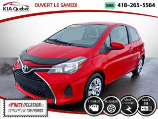 Used 2016 Toyota Yaris Hatchback CE * AT* GROUPE ELECTRIQUE * TRES PROPR for sale in Québec, QC
