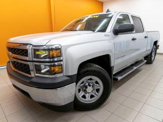 Used 2015 Chevrolet Silverado 1500 CREW 4X4 CLIMATISEUR BLUETOOTH *GR. REMORQUAGE* for sale in Mirabel, QC