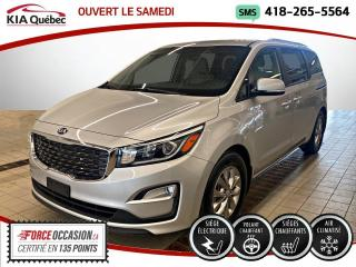 Used 2020 Kia Sedona LX+ * PORTE ELECTRIQUE *APPLE CARPLAY for sale in Québec, QC
