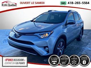 Used 2017 Toyota RAV4 XLE* AWD* TOIT* SIEGE CHAUFFANTS* CAMERA for sale in Québec, QC
