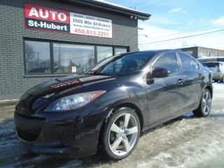 Used 2013 Mazda MAZDA3 ** 116 000 KM CERTIFIÉ ** for sale in St-Hubert, QC