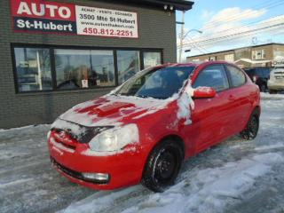 Used 2010 Hyundai Accent SPORT ** 84 000 KM CERTIFIÉ ** for sale in St-Hubert, QC