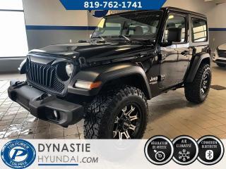 Used 2019 Jeep Wrangler Sport (FRAIS VIP 495$ NON INCLUS) for sale in Rouyn-Noranda, QC