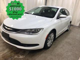 Used 2016 Chrysler 200 LX* Bluetooth/Satellite Radio/PUSH START for sale in Winnipeg, MB
