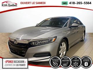 Used 2018 Honda Accord LX* MAGS * SIEGES CHAUFFANTS* CAMERA* BI for sale in Québec, QC