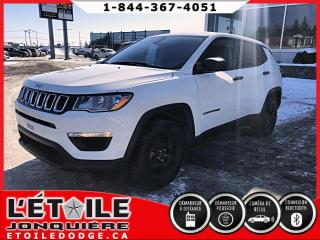 Used 2018 Jeep Compass sport 4x4 for sale in Jonquière, QC