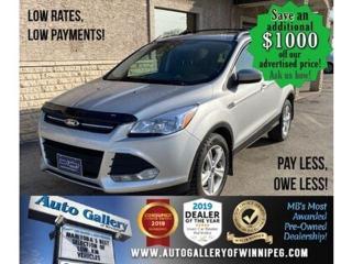 Used 2013 Ford Escape SE* 4WD/Remote Starter/NAVIGATION for sale in Winnipeg, MB