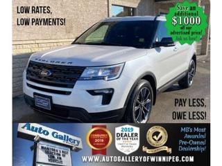 Used 2019 Ford Explorer XLT* 4WD/Navigation/Satellite Radio/LOW KMS for sale in Winnipeg, MB
