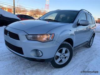 Used 2013 Mitsubishi Outlander LS,4wd,v6 , 7passagers for sale in Drummondville, QC
