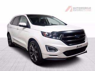 Used 2017 Ford Edge SPORT AWD ECOBOOST CUIR TOIT PANO MAGS GPS for sale in Île-Perrot, QC
