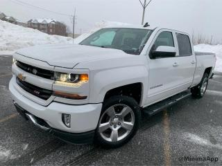 Used 2017 Chevrolet Silverado 1500 Z71 offroad, LT, crewcab, 4x4 for sale in Drummondville, QC