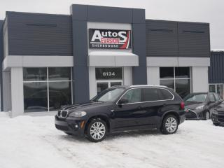 Used 2011 BMW X5 M PACK 35i XDRIVE + TOIT + INSPECTÉ + FREINS NEUFS for sale in Sherbrooke, QC