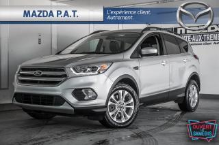 Used 2018 Ford Escape 4WD,AUTO,CAMÉRA DE RECUL,CUIR,GPS,PNEUS HIVER INCL for sale in Montréal, QC