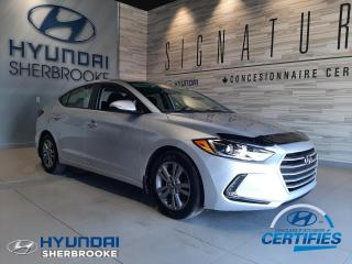 Used 2017 Hyundai Elantra GL CAMERA BANCS/VOLANT CHAUF ANGLES-MORT for sale in Sherbrooke, QC