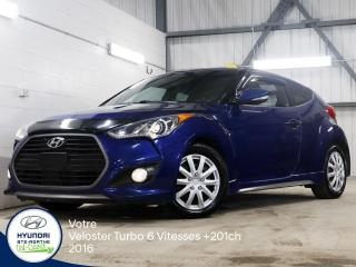 Used 2016 Hyundai Veloster 1.6L Turbo +201CH for sale in Val-David, QC