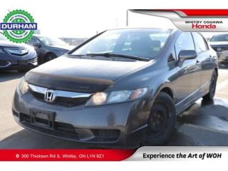 Used 2009 Honda Civic 4dr Man DX-G for sale in Whitby, ON