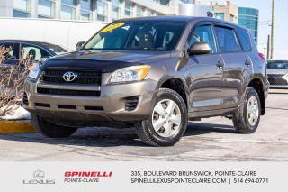 Used 2011 Toyota RAV4 **FWD BAS MILAGE* **BAS MILAGE*GROUPE ELECTRIQUE*A/C*REGULATEUR DE VITESSE* for sale in Montréal, QC