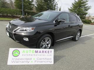Used 2013 Lexus RX 350 PREMIUM, NAVIGATION, AWD, INSP, WARRANTY, FINANCING, BCAA MEMBERSHIP! for sale in Surrey, BC