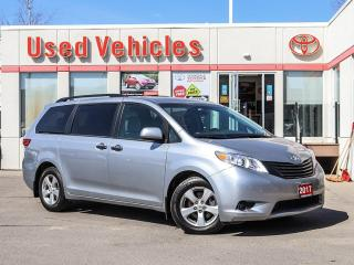 Used 2017 Toyota Sienna FWD 7-SEATS ALLOYS YES WE ARE OPEN! for sale in North York, ON