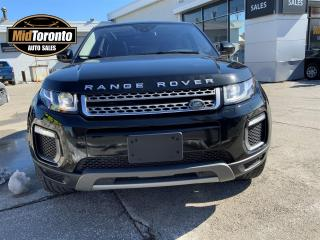 Used 2017 Land Rover Evoque SE | NAVIGATION | PANO GLASS ROOF | No Accidents | Excellent Condition for sale in North York, ON