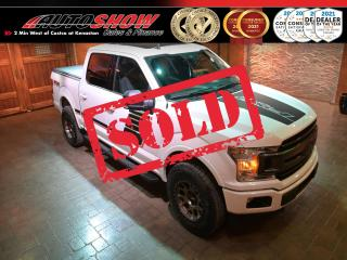 Used 2019 Ford F-150 FX4 5.0L w/ Pano Roof, R.Start & Locking Diff for sale in Winnipeg, MB