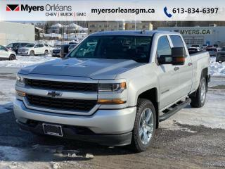 Used 2018 Chevrolet Silverado 1500 Custom for sale in Orleans, ON