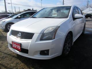 Used 2010 Nissan Sentra SE-R for sale in Hamilton, ON