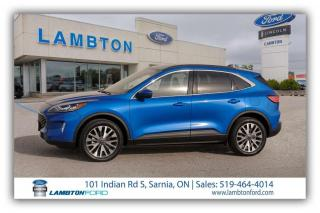 Used 2020 Ford Escape Titanium for sale in Sarnia, ON