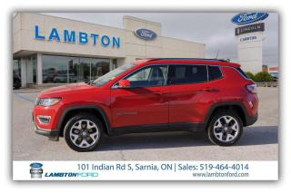 Used 2020 Jeep Compass LIMITED for sale in Sarnia, ON