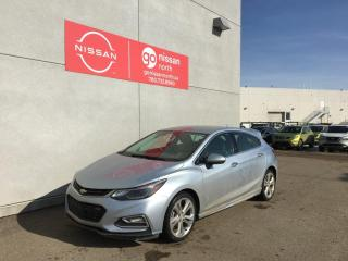 Used 2018 Chevrolet Cruze Premier / Leather / Touch Screen / Backup Camera / Heated Seats / for sale in Edmonton, AB