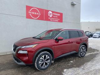 New 2021 Nissan Rogue SV/PUSH START/BLIND SPOT/BACK UP CAM/BLUETOOTH/POWER LIFTGATE/HEATED REAR for sale in Edmonton, AB