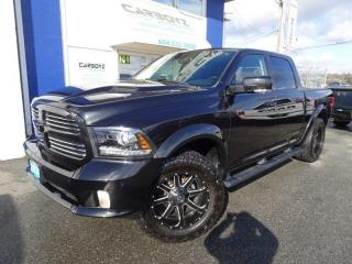 Used 2016 RAM 1500 Sport Crew, Nav, Sunroof, Leather, Rim/Tire Pkg. for sale in Langley, BC