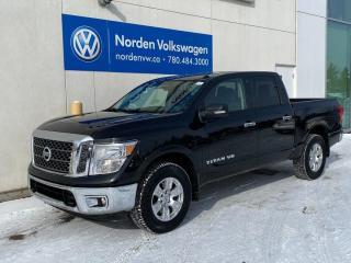 Used 2018 Nissan Titan SV CREW CAB 4X4 - BACKUP CAM / BLUETOOTH / PWR PKG for sale in Edmonton, AB