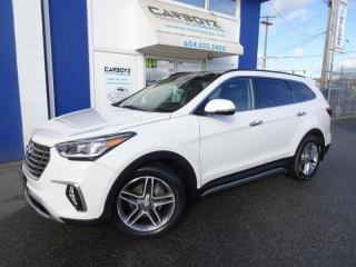 Used 2017 Hyundai Santa Fe XL AWD 4dr Ultimate w-6-Passenger-Saddle Interior for sale in Langley, BC