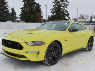 New 2021 Ford Mustang GT | coupe | Manual | 301a Pkg | Black Accent Pkg | Spoiler for sale in Edmonton, AB