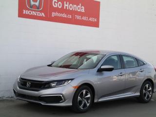New 2021 Honda Civic SEDAN LX for sale in Edmonton, AB
