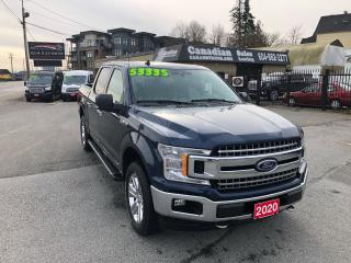Used 2020 Ford F-150 XLT 3.5L ECO 375HP 10 SPD AUTO for sale in Langley, BC