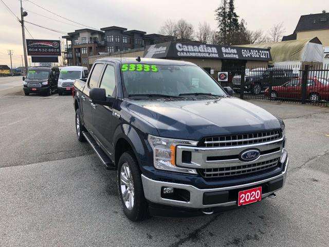 2020 Ford F-150 XLT 3.5L ECO 375HP 10 SPD AUTO