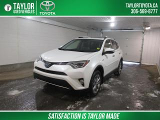 Used 2016 Toyota RAV4 Hybrid Limited LIMITED with TECHNOLOGY TRIM PACKAGE for sale in Regina, SK