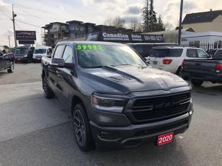 Used 2020 RAM 1500 Sport 5.7L HEMI 395HP 8 SPD AUTO for sale in Langley, BC