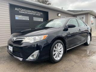Used 2013 Toyota Camry XLE - ONLY 67,000KMS - NAV AND LEATHER for sale in Kingston, ON