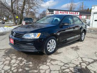 Used 2015 Volkswagen Jetta Trendline/Automatic/Htd Seats/Bluetooth/Certified for sale in Scarborough, ON