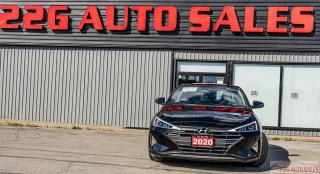 Used 2020 Hyundai Elantra Preferred w/Sun & Safety Package|ACCIDENT FREE|CAR for sale in Brampton, ON