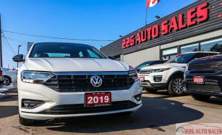 Used 2019 Volkswagen Jetta Highline R-Line|BACKUP CAM|LEATHER|SUNROOF for sale in Brampton, ON