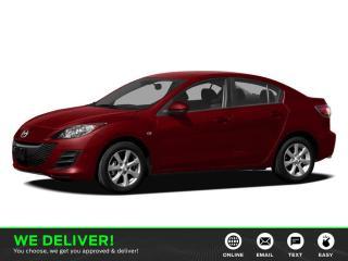 Used 2011 Mazda MAZDA3 GX REMOTE START   INSPECTED-USED EDMONTON MAZDA DEALER for sale in Edmonton, AB