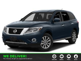 Used 2014 Nissan Pathfinder Platinum 2 SETS OF WHEELS & TIRES | LEATHER | SUNROOF | 3rd ROW SEATING | HEATED SEATS-USED NISSAN DEALER for sale in Edmonton, AB