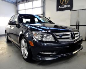 Used 2011 Mercedes-Benz C-Class C 300,AWD,NAVI,ONE OWNER.0 CLAIM for sale in North York, ON