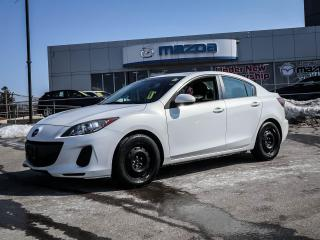 Used 2013 Mazda MAZDA3 GX GS SEDAN - 5 SPEED TRANSMITION for sale in Hamilton, ON